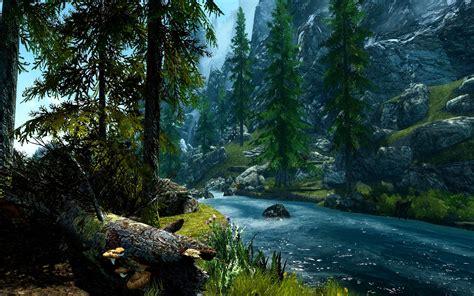 Forest River Wallpaper