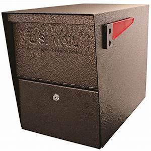 Mailboss, 7208, Package, Master, Locking, Security, Mailbox