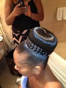 black hairstyles for weddings american black wedding hair hairstyles braid wrapped bun