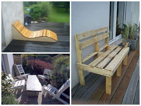 design pallet garden seats  pallets