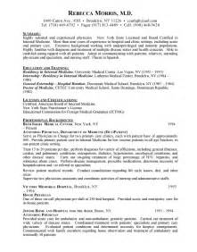 general resume summary of qualifications exles management doctor of education resume sales doctor lewesmr
