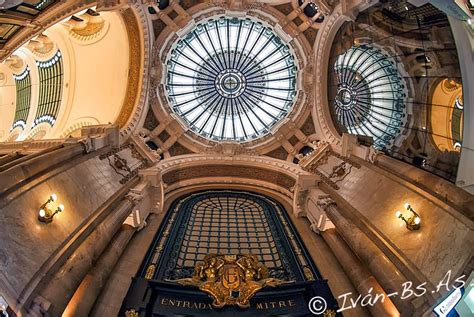 Art Nouveau Architecture Is On Display In Buenos Aires
