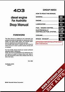 Mitsubishi Ebook Soft   Shop Manual  Mitsubishi Canter