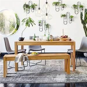 table salle a manger design rustique en 42 idees originales With deco cuisine avec chaise salle a manger rustique