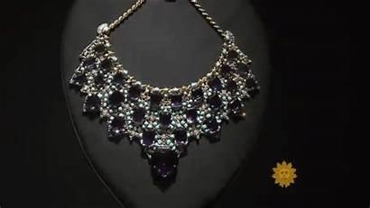 Amethyst Cartier Windsor Wallis Necklace Diamond Jewels