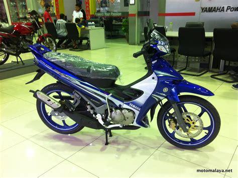 y125zr gp edition biru 3 motomalaya net berita dan ulasan dunia kereta dan motosikal dari