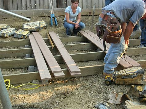 10x10 Floating Deck Plans by How To Build A Floating Deck How Tos Diy