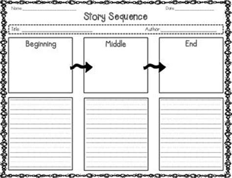 graphic organizers  reading comprehension beginning