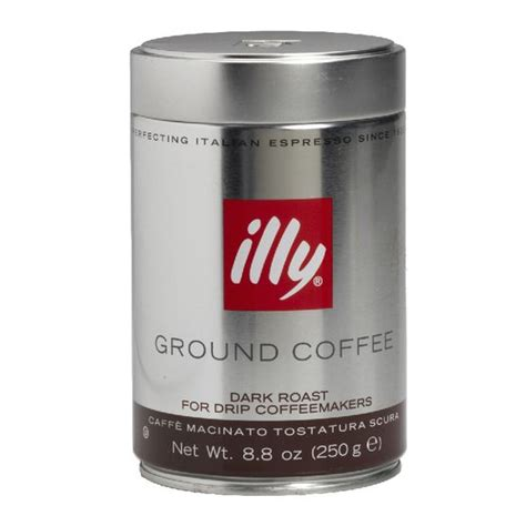 Make your coffee from anywhere you find yourself, thanks to illy's instant coffee tins! Illy Ground Coffee - Dark - 250g | London Drugs