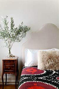 go bold in the bedroom with a samarkand suzani http www With big fluffy pillows sale