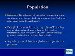 Inferential Statistics - ppt download
