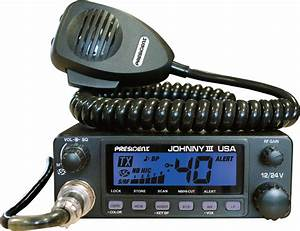 President Johnny Iii Cb Radio