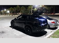 BMW x6 BLACKED OUT YouTube