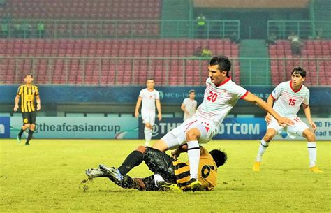 Player stats and form guide for the afc u19 championship fixtures on friday 16th october 2020. GALLERY: Nabil Hakim Bokhari's lunging challenge results ...