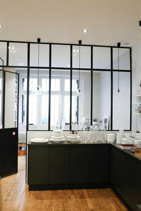 vervenne cuisine une verrière intérieure pour cloisonner l 39 espace avec style