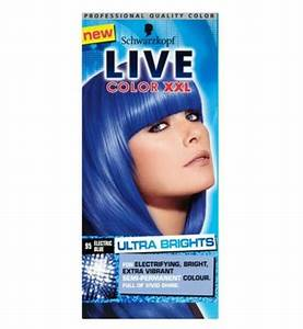 Schwarzkopf Live Color Xxl 95 Electric Blue Semi Permanent