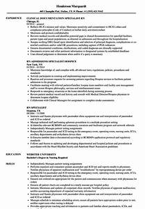 Rn Specialist Resume Samples