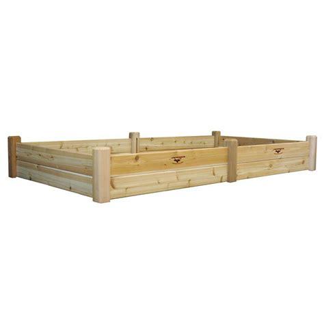 gronomics raised garden bed gronomics 48 in x 95 in x 13 in raised garden bed rgb