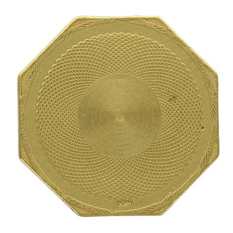1851 Moffat Humbert Fifty Dollar California Gold Piece