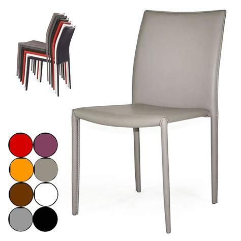 chaise simili cuir chaise simili cuir taupe
