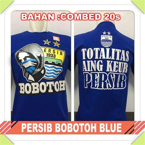 Kaos Persija Bola jual kaos baju murah bola indonesia persib bobotoh blue di