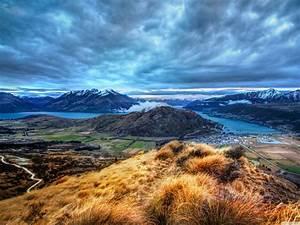 Queenstown New Zealand Beautiful Landscape Hd Desktop ...