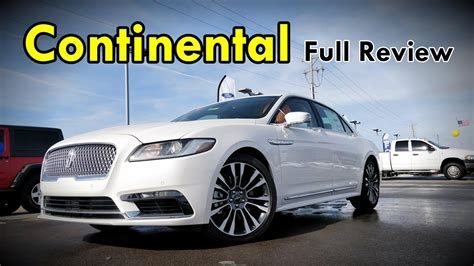 lincoln continental full review black label