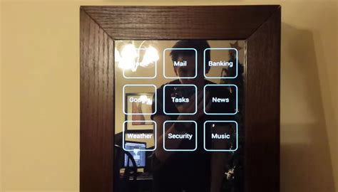 android mirror this android powered smart mirror display notifications