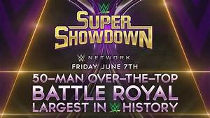 WWE Super ShowDown 2019 50 Man Battle Royal Official Match ...