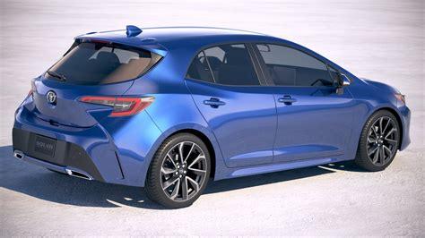 2019 Toyota Hatchback by Toyota Corolla Hatchback 2019