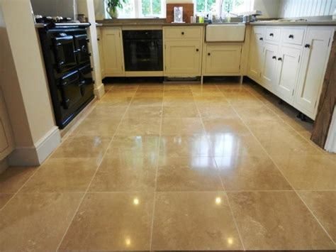 re tile kitchen floor travertine tile kitchen floor photos 4501