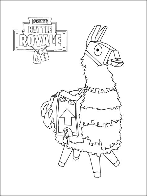 fortnite coloring pages printable  coloring pages  kids   printable
