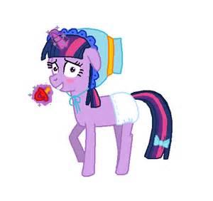 Diaper Twilight Sparkle Costume