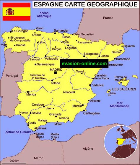 Comment On Dit Carte Du Monde En Espagnol by Espagne Vacances 187 Vacances Arts Guides Voyages