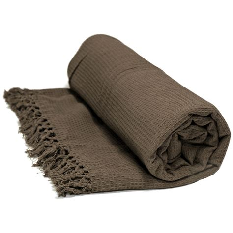 Honeycomb 100% Cotton Throws Extra Large Luxury Thermal