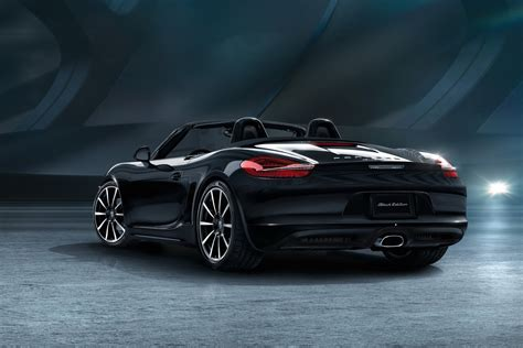 Here's Your Gallery Of Porsche's New 911 And Boxster Black