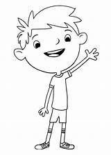 Justin Coloring Printable Cartoon Categories sketch template