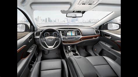 toyota highlander interior  exterior review youtube