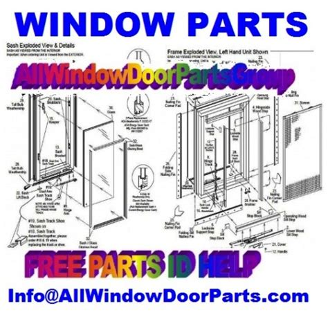 kolbe kolbe window door replacement hardware repair parts balances handles locks lifts