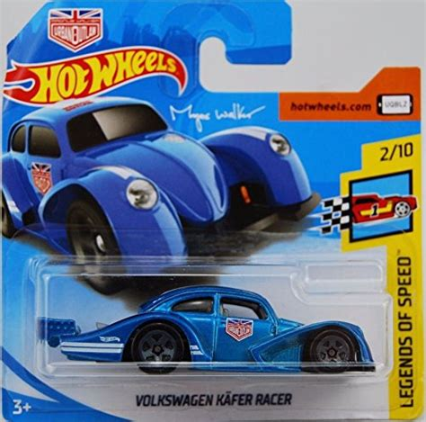 Hot wheels 2020 factory fresh '16 bugatti chiron, black 89/250. Hot Wheels 2018 Volkswagen Kafer Racer Blue 2/10 Legends of Speed Magnus Walker 2018 2/365 ...