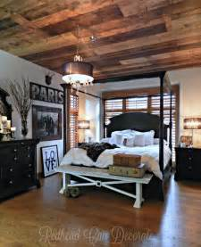 diy wood planked ceiling redhead can decorate