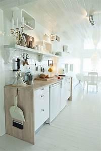idee decoration cuisine le charme de la cuisine scandinave With idee deco cuisine avec tapis scandinave vintage