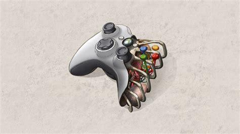 Xbox Controller Wallpaper 1920 X 1080 Press Start To Play