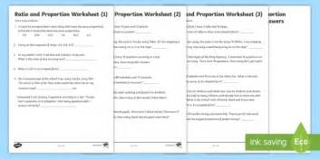 ratio and proportion 3 differentiated worksheet activity