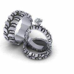 1000 images about auto inspired things on pinterest hot With gearhead wedding rings