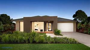 Simple, One, Story, Modern, House, Single, Home, Designs