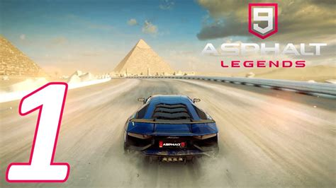 Asphalt 9 Legends Walkthrough #1  Tutorial & First Races