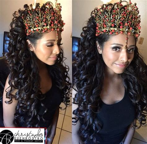 quinceanera hairstyles images  pinterest