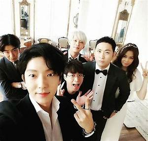 Actor Lee Joon Gi And Super Juniors Kim Heechul Attended