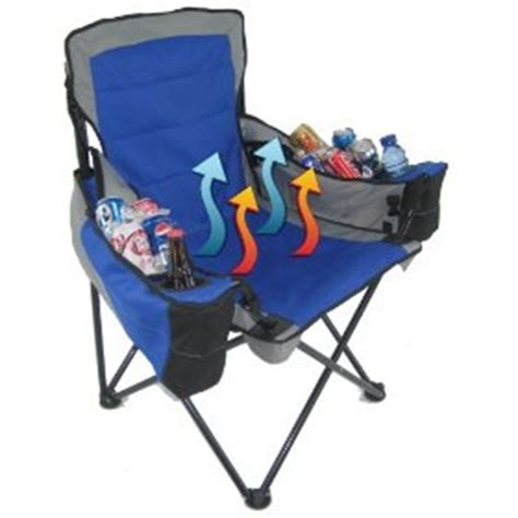 folding chair with built in coolers gadgetking